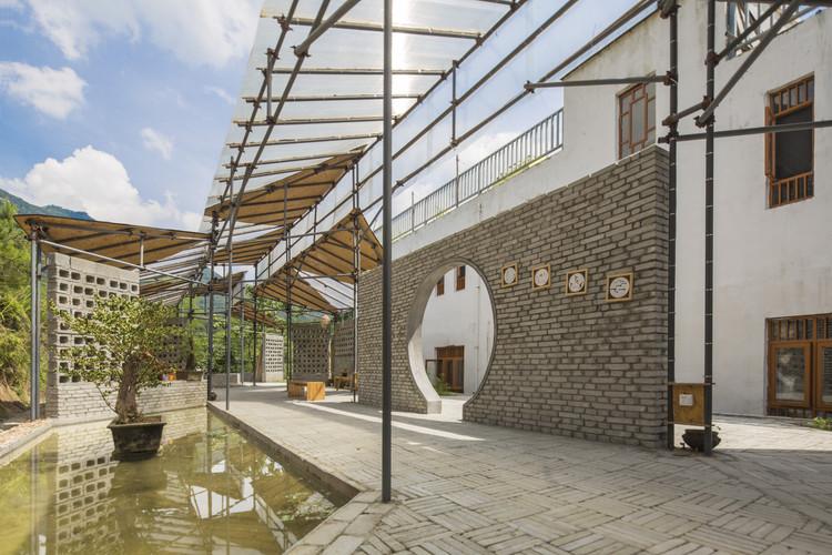 Temporary Workshop Amp Recreation Centre Of Qianyi Farm