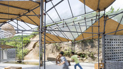 Temporary Workshop & Recreation Centre of Qianyi Farm / Big Smallness Studio + Wuhan ADAP Architects