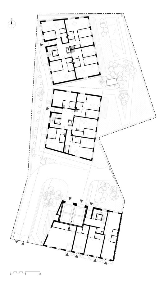 Residential development j basanaviciaus 9a paleko for Ici floor plans