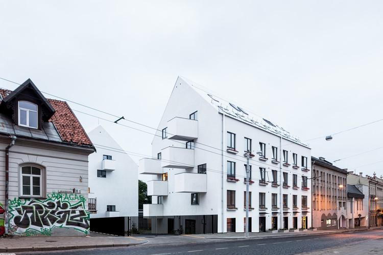 Desarrollo residencial J.Basanaviciaus 9A / Paleko architektu studija, © Norbert Tukaj
