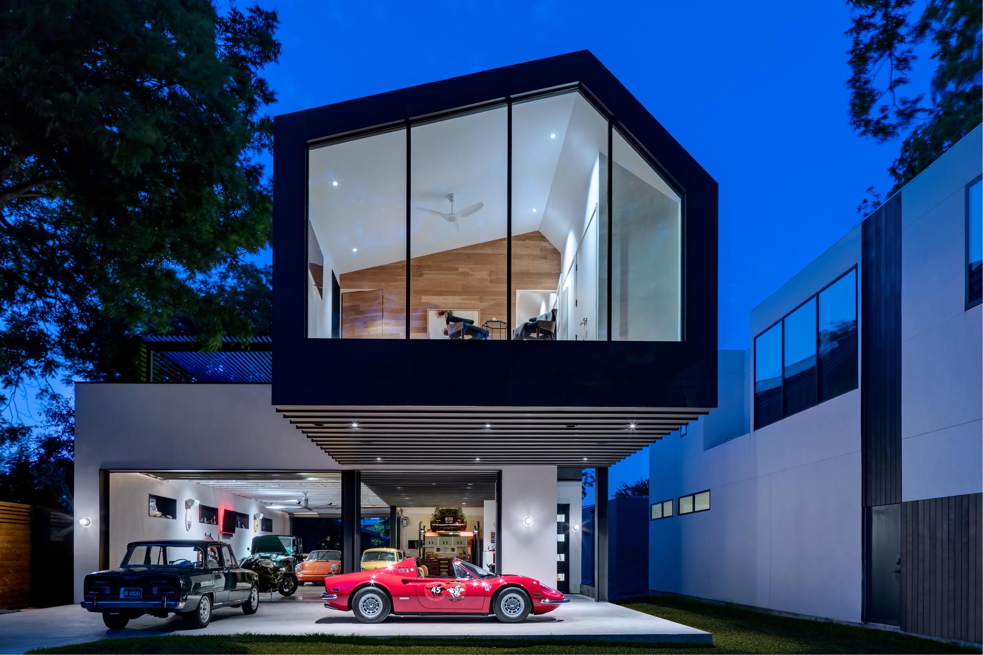 Gallery of autohaus matt fajkus architecture 19 for Home node b architecture
