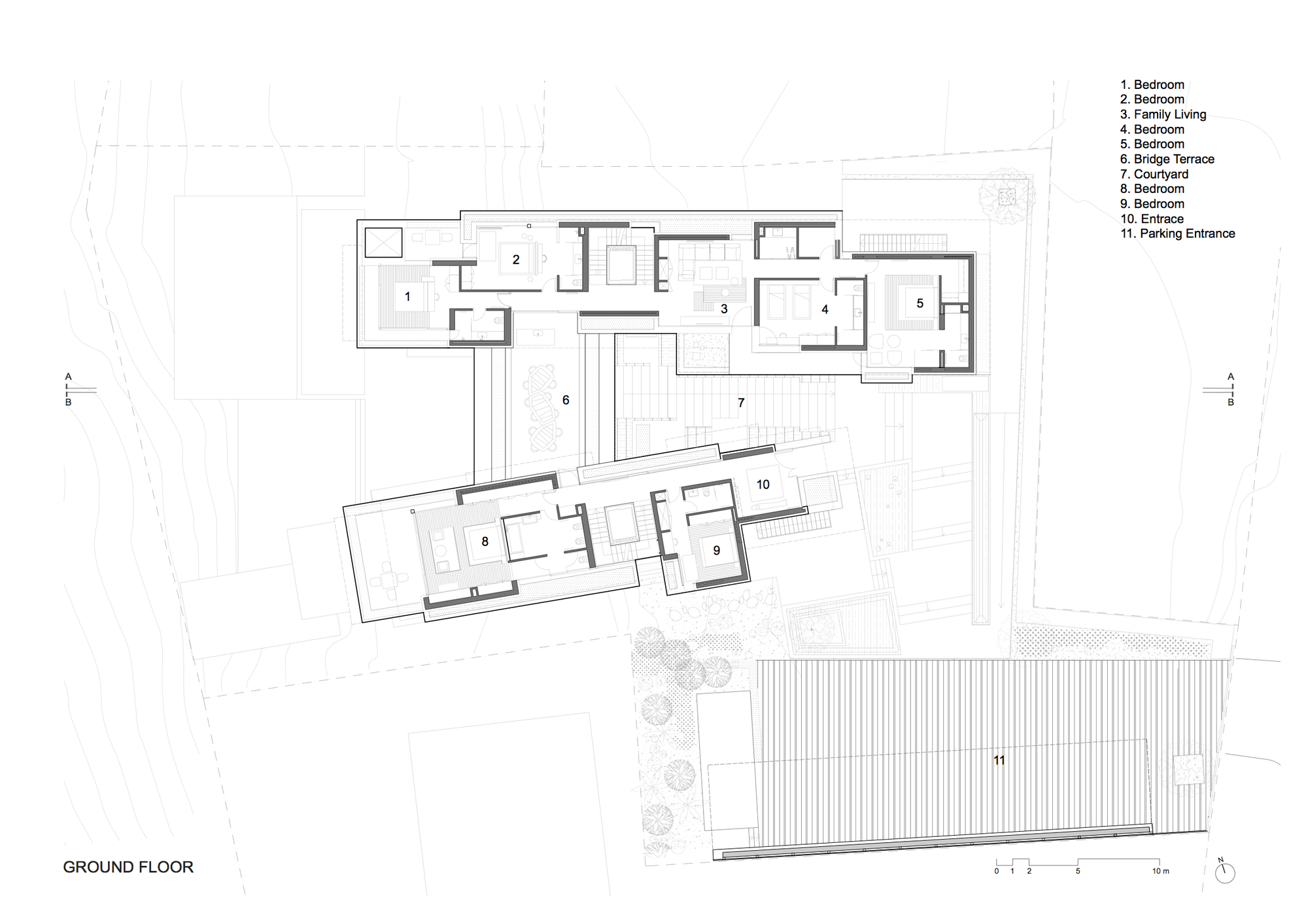 Blank Floor Plan Blank House Template Wattle Cottage Dining Room - Blank floor plan