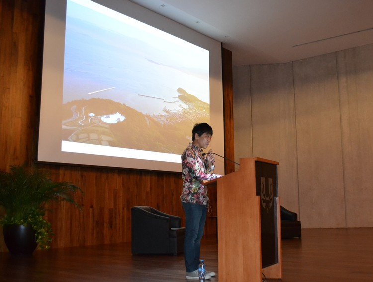 Ryue Nishizawa, socio fundador de SANAA, presenta conferencia magistral en la Universidad Marista de Mérida, Cortesía de Universidad Marista de Mérida