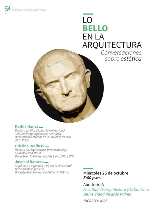 Lo bello en la arquitectura: conversaciones sobre estética / Lima, Equipo de Sesiones de Arquitectura