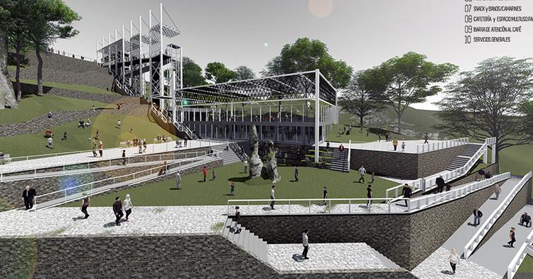 Finalistas do concurso 'Futuro e Identidade de Valparaíso' da XX Bienal de Arquitetura e Urbanismo do Chile, Cortesía de XX Bienal de Arquitectura Chile