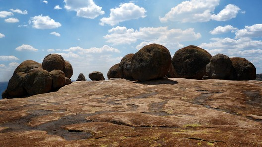 Zimbabwe, Matobo Hills Cultural Landscape. The grave of Cecil Rhodes in World's View receives thousands of visitors each year, 2016. Stephen Battle/World Monuments Fund