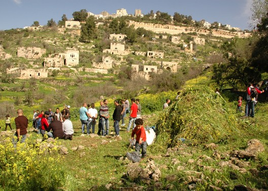 Israel, Lifta. The ruins of Lifta are now a popular destination for recreation, 2011. Nir Navot/ World Monuments Fund