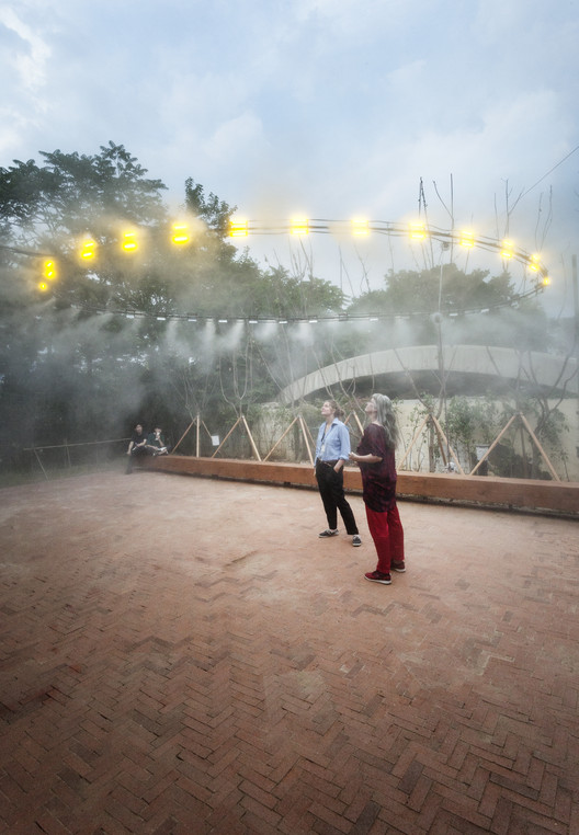 C+ Arquitectos apresenta infraestrutura de código aberto na Bienal de Arquitetura de Seul, Yellow Dust. Imagem © Daniel Ruiz