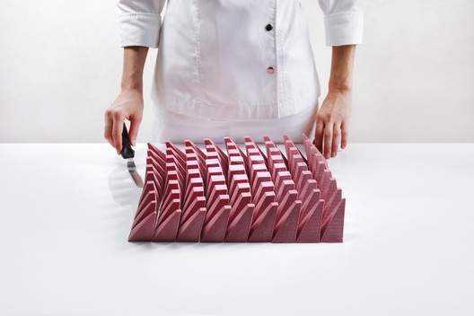 This Captivating Parametric Dessert Celebrates the Discovery of a New Type of Chocolate