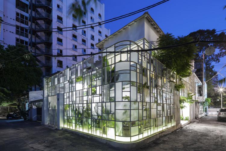 T House / KIENTRUC O, © Hiroyuki Oki