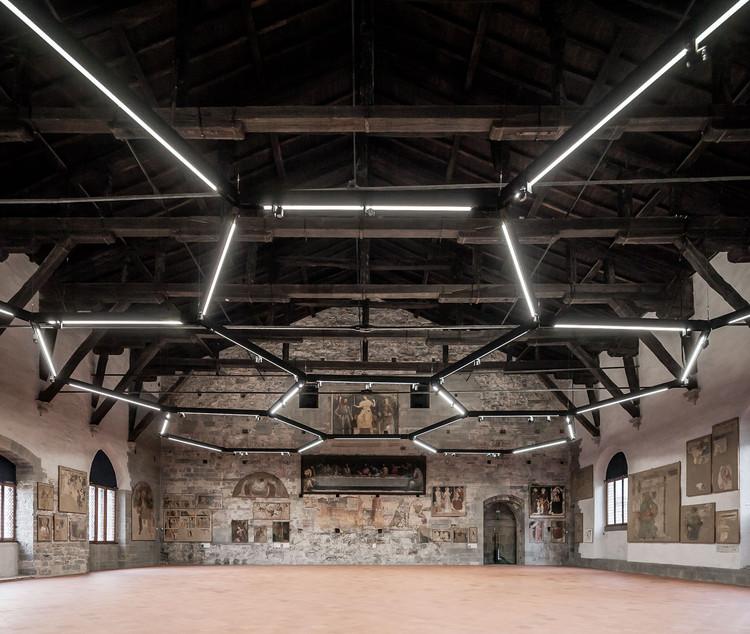 Sala delle Capriate at Palazzo della Ragione / CN10 architetti, © Gianluca Gelmini