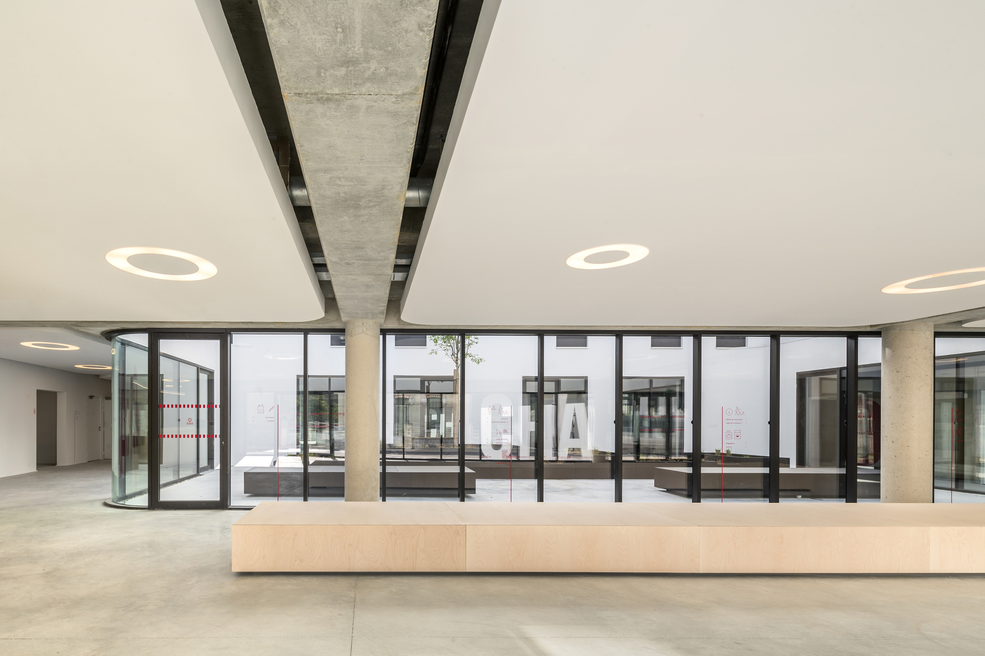 gallery of chai youth hostel antonio virga architecte 6. Black Bedroom Furniture Sets. Home Design Ideas