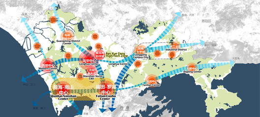 Location of Ban Xue Gang High-Tech Zone in Shenzhen