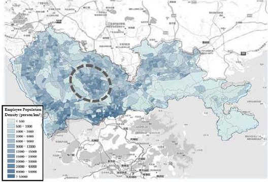 Employment Population density