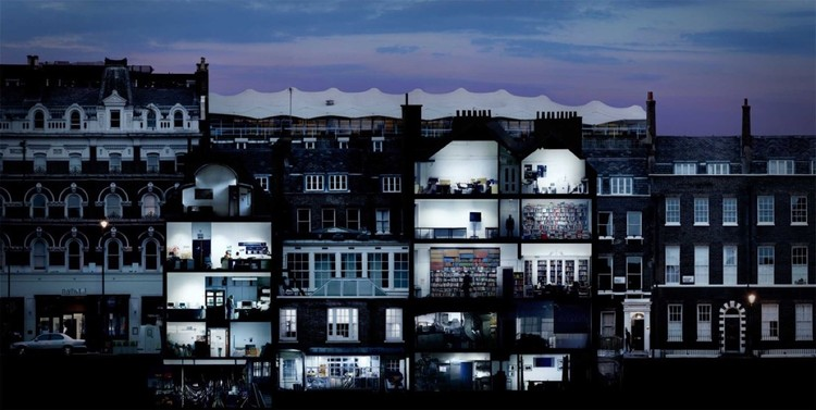 London's Architectural Association Seeks New Director, Bayley Street to Bedford Square, 2008-10. Image © Kevin Sheppard