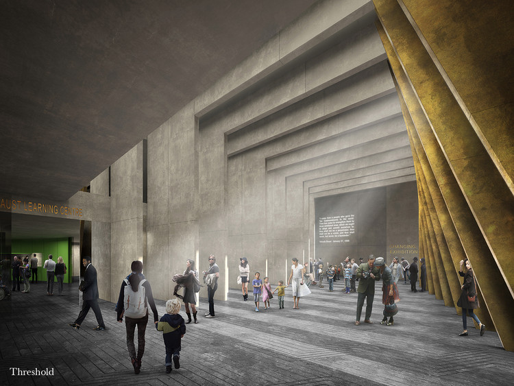 Sir David Adjaye and Ron Arad Architects Selected to Design UK's New Holocaust Memorial in Central London, © Adjaye Associates and Ron Arad Architects