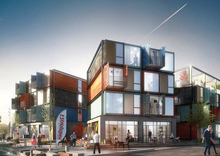 Arkitema Architects Designs 30 Shipping Container Apartments in ...