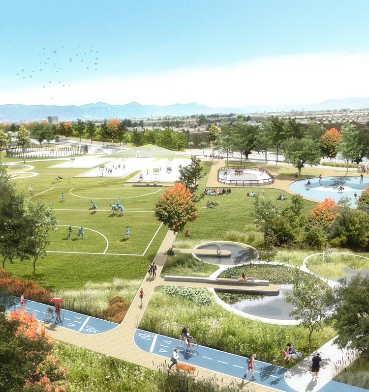 DARP, mención honrosa en concurso de ideas del Parque Juan Amarillo en Bogotá, Cortesía de DARP