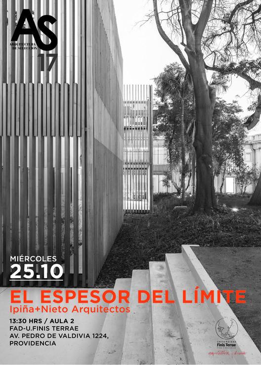 Conferencia 'El espesor del límite'