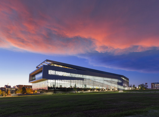 James B. Hunt Library at NCSU. Image © Jeff Goldberg / Esto