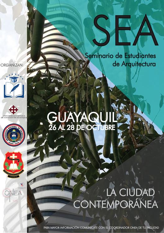 II Seminario de Estudiantes de Arquitectura SEA, Roberto Buestan