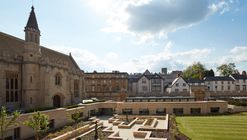Longwall Library - Magdalen College / Wright & Wright Architects