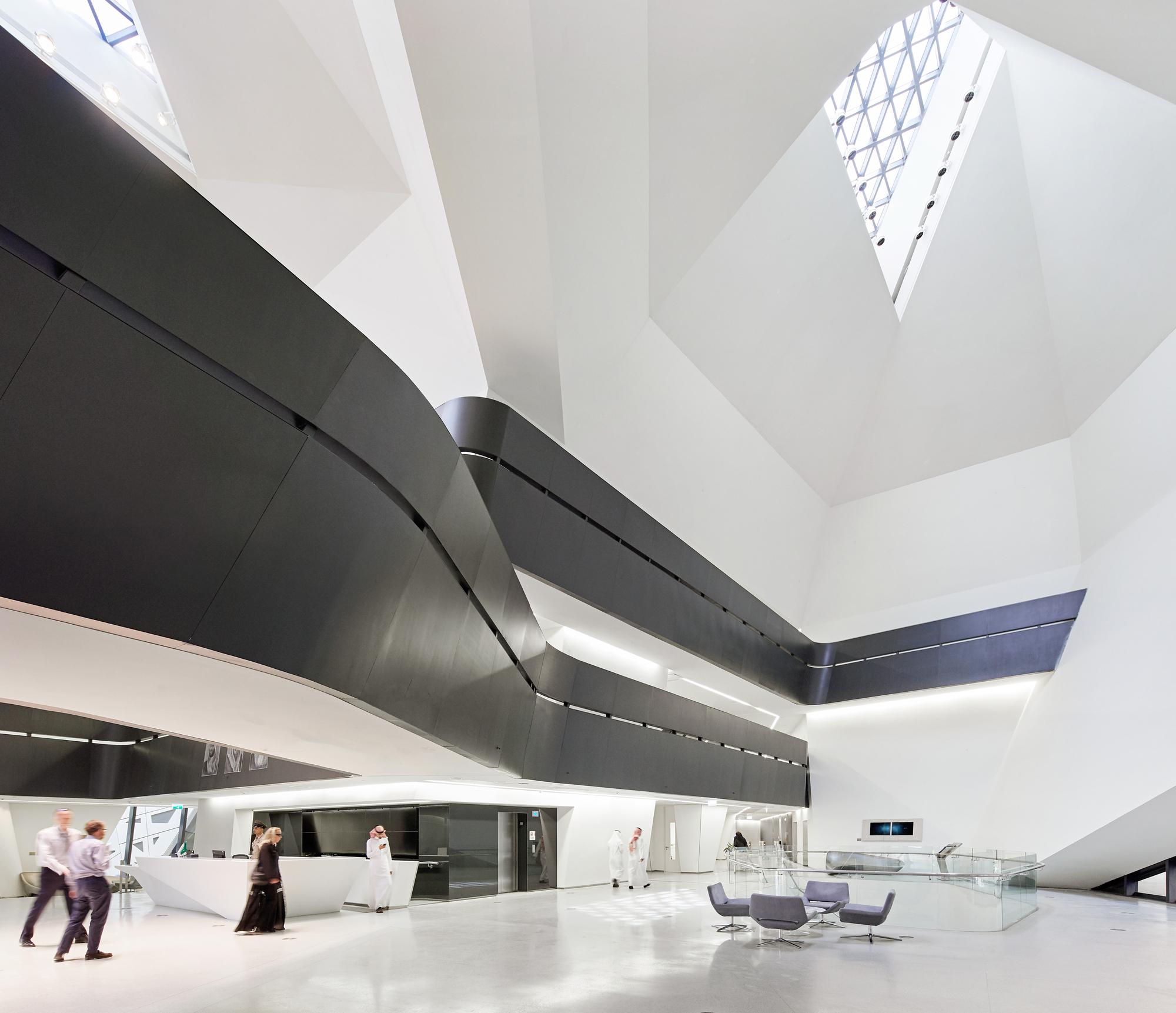 Resultado de imagem para Centro de Estudos e Pesquisas de Petróleo Rei Abdullah / Zaha Hadid Architects