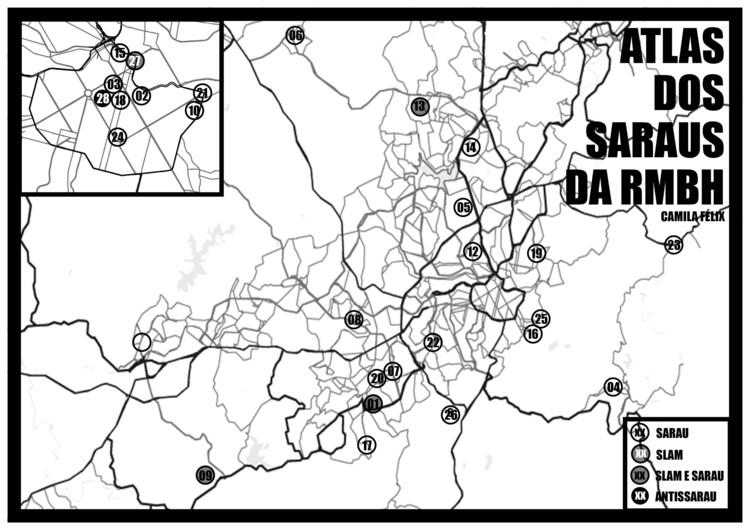 Atlas dos saraus de Belo Horizonte: campanha de financiamento coletivo