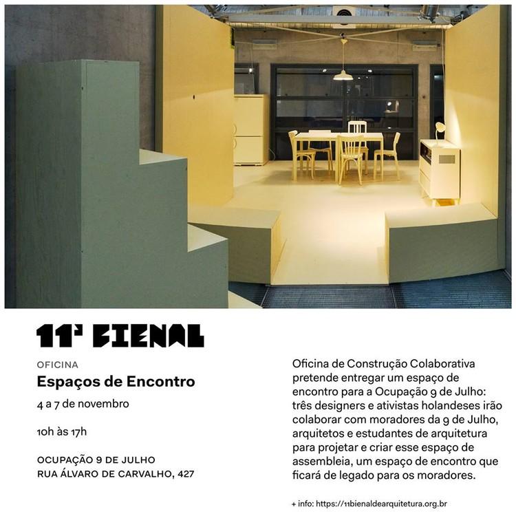 Oficina Espaços de Encontro - 11ª Bienal de Arquitetura de São Paulo, Oficina Espaços de Encontro
