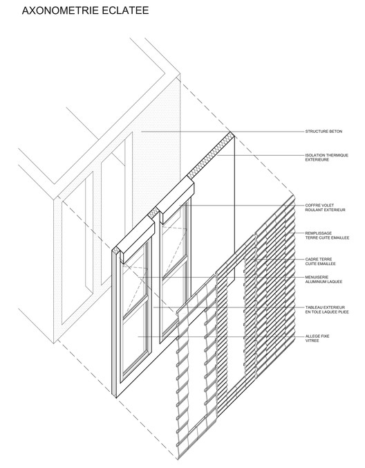 Facade Structure Detail