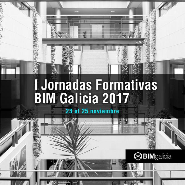 I Jornadas Formativas BIM Galicia 2017