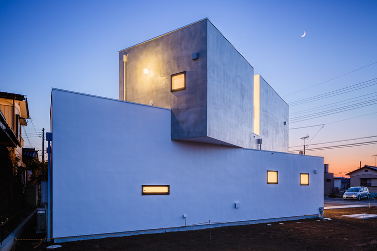 Bloque desplazado / Kichi Architectural Design, © Ippei Shinzawa