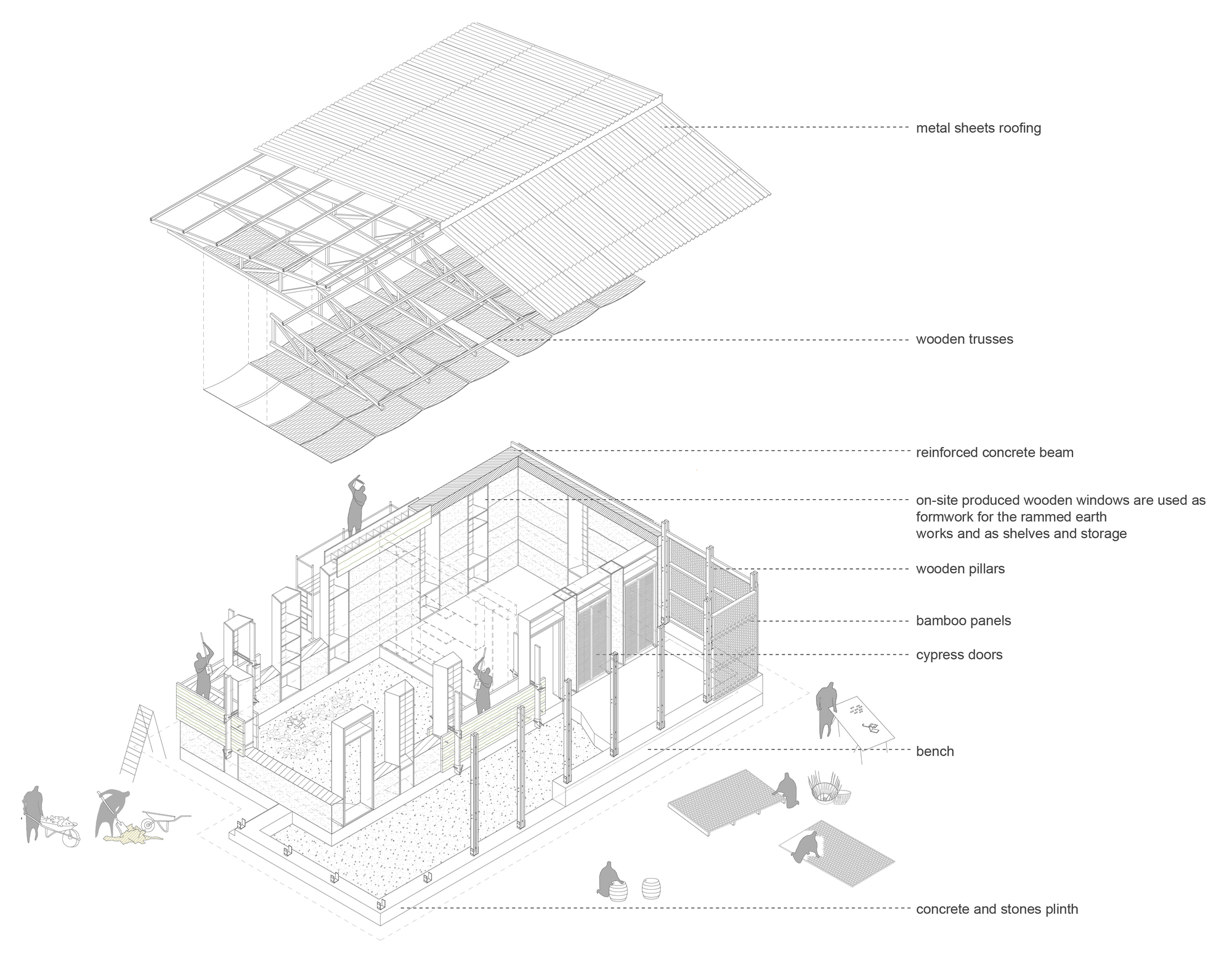Gallery of Amani Library / Social Practice Architecture - 21
