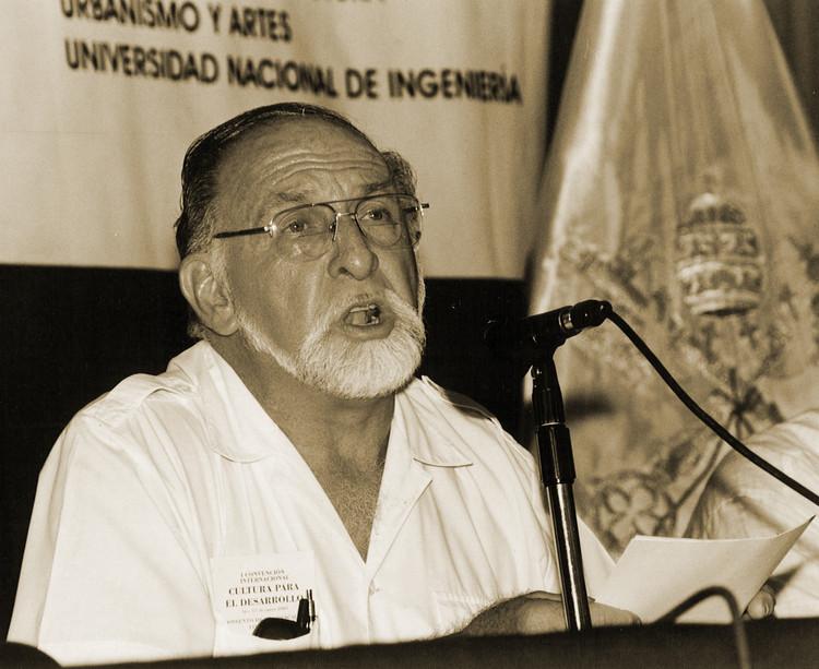 Fallece arquitecto peruano José Correa Orbegoso, Cortesía de FAUA UNI