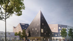 OOPEAA Wins Multi-functional Church and Social Housing Proposal in Helsinki