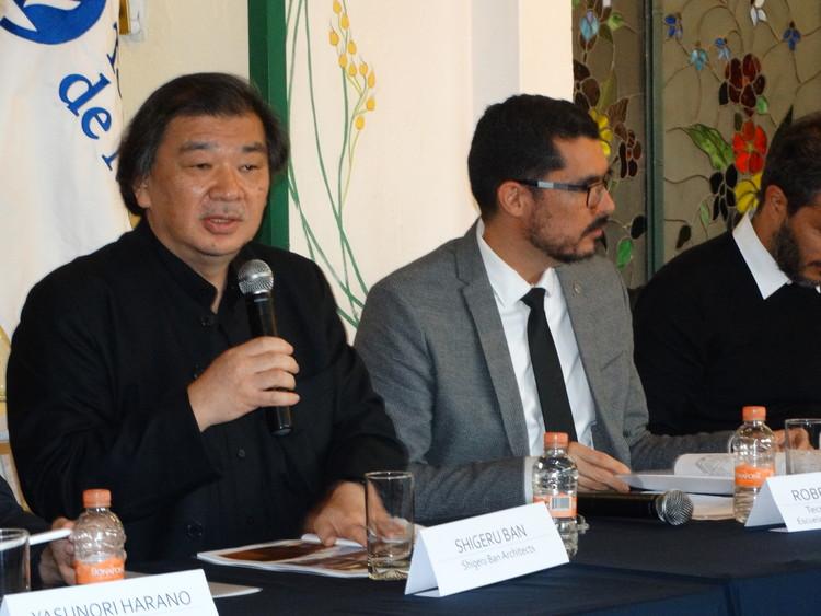 Shigeru Ban en diálogo con arquitectos mexicanos sobre el sismo del 19 de septiembre, Cortesía de Tec de Monterrey