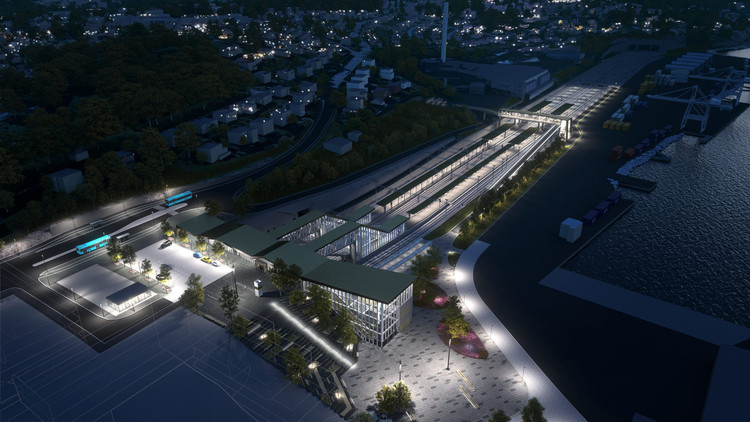 How a Norwegian Infrastructure Project is Using Virtual Reality to Improve Public Buy-In, The complex rail project will involve building 10 kilometers of new track, two tunnels, and one new transit station. Image Courtesy of Bane NOR