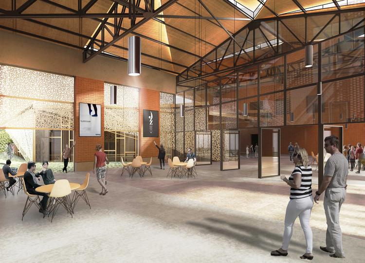 EMBT e Ilimelgo ganan concurso para renovar y ampliar la sala de eventos de Romainville en París, Cortesía de EMBT