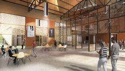 EMBT e Ilimelgo ganham concurso para renovar e expandir sala de eventos de Romainville em Paris
