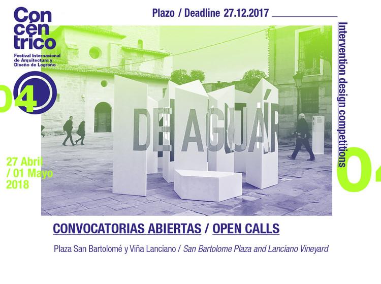 Concurso de diseño y realización de intervención en la Plaza de San Bartolomé en Concéntrico 04, Concéntrico 04 / Convocatoria abierta