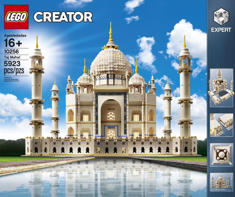 LEGO Releases Massive 5,923-Piece Taj Mahal Kit, Courtesy of LEGO