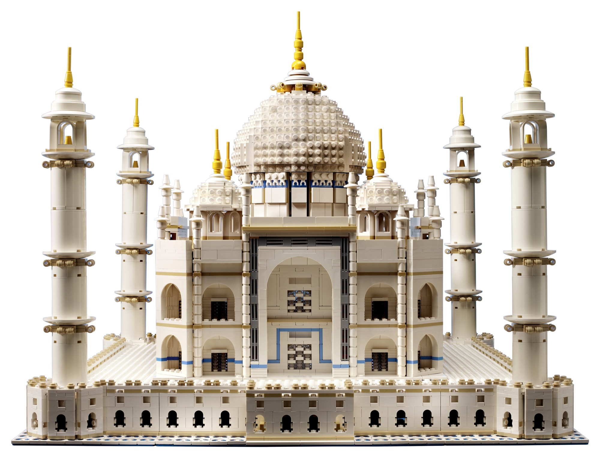 Gallery of LEGO Releases Massive 5,923-Piece Taj Mahal Kit - 2