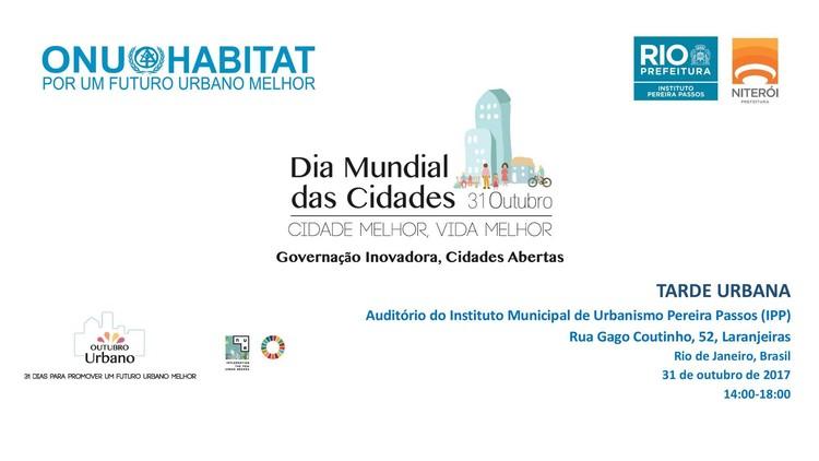 ONU-Habitat convida para Dia Mundial das Cidades 2017, © via ONU-Habitat