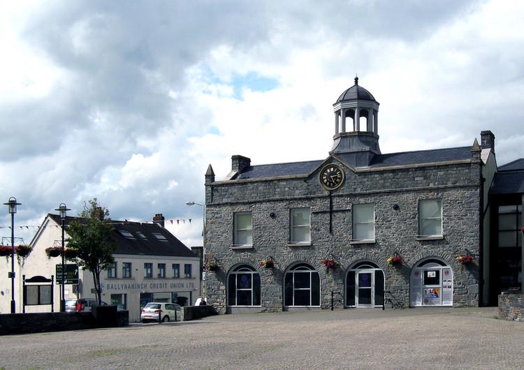 """Pavilhão da Irlanda na Bienal de Veneza 2018 explora o espaço do mercado nas cidades, Ballynahinch Market House em County Down, no norte da Irlanda. © <a href=""""https://commons.wikimedia.org/wiki/File:Ballynahinch_Market_House_-_geograph.jpg"""">Neil Clifton</a> licença <a href=""""https://creativecommons.org/licenses/by-sa/2.0/"""">CC BY 2.0</a>. Image Cortesia de Neil Clifton"""