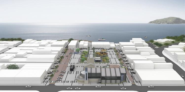 Segundo lugar no Concurso para a Praça Central de Guaratuba/PR, Cortesia de eAm _ estúdio de Arquitetura mutável
