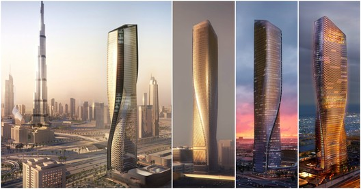 Unstudio Designs Dubai Supertall With One Of The World S