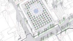 PRACTICA, segundo lugar en concurso de remodelación de la Plaza de los Misterios en Madrid