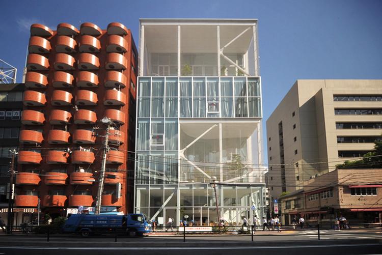 Kazuyo Sejima: habitar entre lo material y lo abstracto, Shibaura House. Image vía Flickr User: Park Licensed Under CC BY 2.0