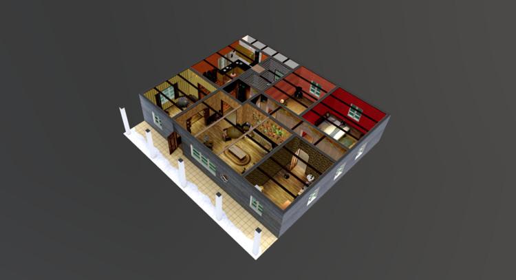 Explora los misteriosos espacios de Stranger Things en este modelo 3D, vía Archilogic