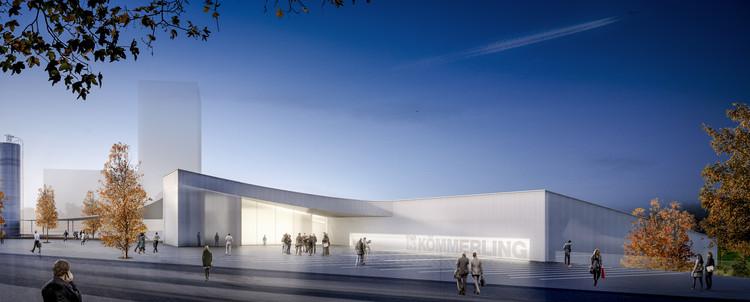 EnMedio Studio, primer lugar en concurso de nuevo 'edificio cero' para Kömmerling en Madrid, Cortesía de EnMedio Studio